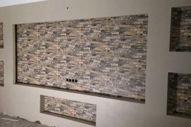 Taş Desen Duvar Kağıdı ustası -2